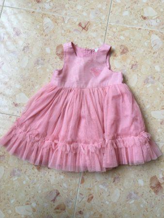 robe rose bébé